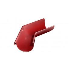 Угол желоба внешний, 135 гр,125 мм RAL 3011 коричнево-красный