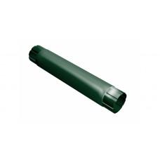 Труба круглая соединит.,90мм 1м RAL 6005 зеленый мох