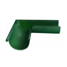 Угол желоба внешний, 90 гр,125 мм RAL 6005 зеленый мох