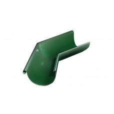 Угол желоба внешний, 135 гр,125 мм RAL 6005 зеленый мох