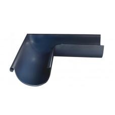 Угол желоба внешний, 90 гр,125 мм RAL 7024 мокрый асфальт
