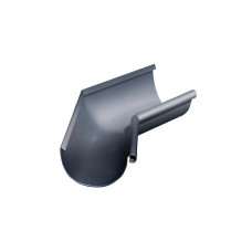 Угол желоба внутренний, 135 гр,125 мм RAL 7024 мокрый асфальт