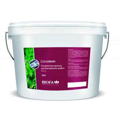 Солимин. Силикатная краска для внутренних работ, белая/медиум/бесцветная