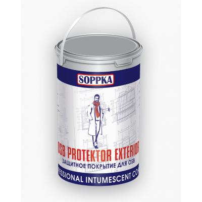 SOPPKA OSB PROTEKTOR EXTERIOR - Состав фасадный огнебиозащитный