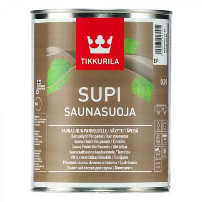 Состав SUPI SAUNASUOJA защитный для стен и потолка в саунах