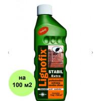 Антисептик Lignofix Stabil Extra - коричневый, концентрат, 1 кг
