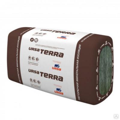 Минвата URSA Терра PRO 34PN плита 10-1000-610-50мм (10 плит; 0,305м3; 6,1м2)
