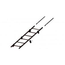 Лестница кровельная Grand Line RAL 8017 3м