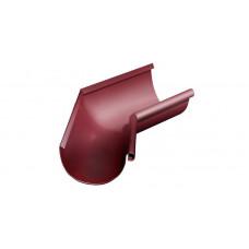 Угол желоба внутренний, 135 гр,125 мм RAL 3005 красное вино