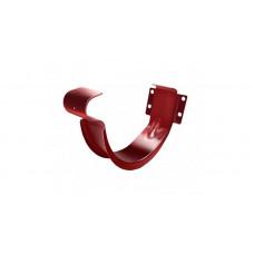 Крюк короткий 125 мм, RAL 3011 коричнево-красный