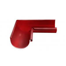 Угол желоба внутренний, 90 гр,125 мм RAL 3011 коричнево-красный