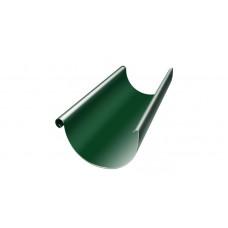 Желоб полукруглый, 125 мм, 3 м, RAL 6005 зеленый мох
