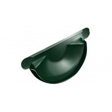 Заглушка торц.универс.,125 мм RAL 6005 зеленый мох
