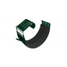 Соединитель желоба GL 125 мм RAL 6005 зеленый мох