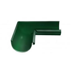 Угол желоба внутренний, 90 гр,125 мм RAL 6005 зеленый мох