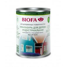 Biofa Аквалазурь для дерева, индустриальная 8101
