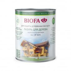 Biofa Лазурь для дерева 1075 (бесцветная база)
