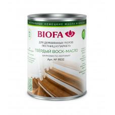 Biofa Твердый воск-масло профессиональный, шелковисто-матовый 9032