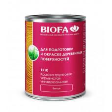 Biofa Краска-грунтовка универсальная белая укрывистая 1210