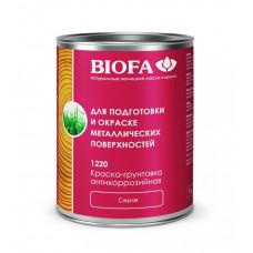 Biofa Краска-грунтовка антикоррозийная, серая 1220