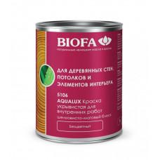 Biofa AQUALUX - Краска для внешних  работ бесцветная/глянцевая/белая 5107