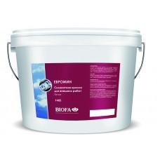 Biofa EUROMIN Силикатная краска для внешних работ, белая 1408