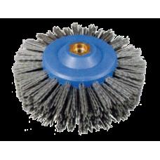 Щетка-диск Д140*55*М14 с абразивным нейлоном (карбид кремния), Р46, Р60, P80 КОД 52,80,105