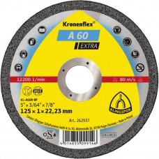 A 60 EX отрезные диски KT/EXTRA/A60EX/S/GER/125X1X22,23